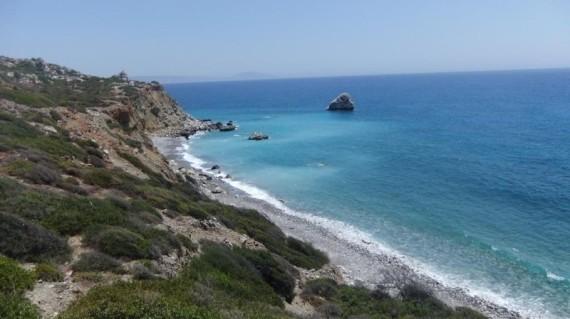 So sieht die Bucht von oben aus: